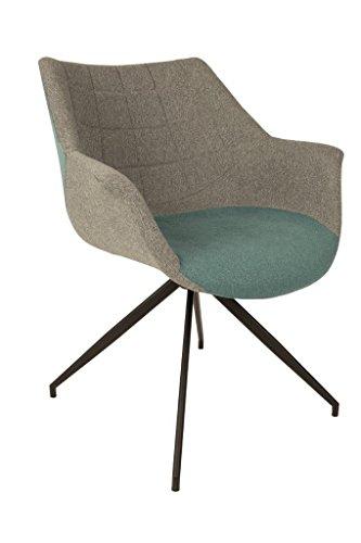 2er Set Lounge Sessel Doulton Blue von Zuiver