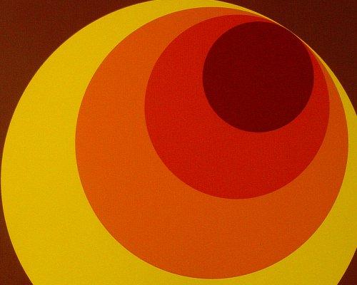A.S. Création 701312 Vliestapete, Mustertapete im Retro Design, 70er-Jahre Design, braun, gelb, oragne, rot