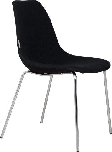 Fifteen Stuhl Schwarz 2er-Set