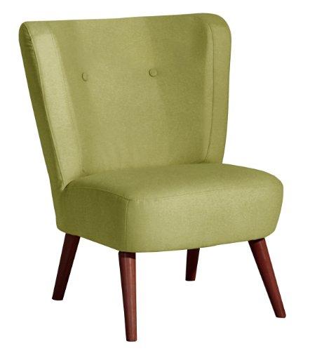 Max Winzer 2791-1100-1644403 Sessel Lara, Einzelsessel, Filzoptik grün