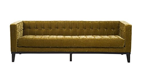 Retro Sofa Mirage 3-Sitzer Samtvelour 230 cm Kare