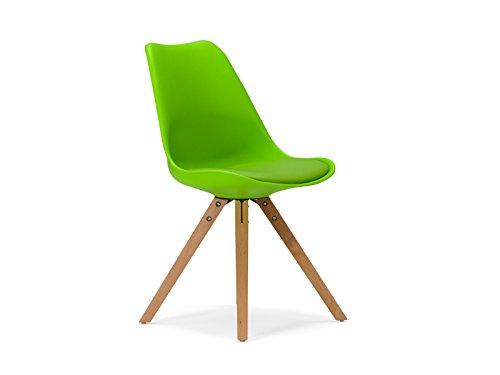 massivum Stuhl California 49x83x53 cm Kunststoff grün