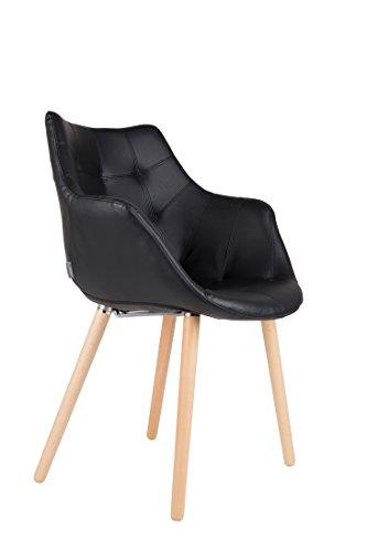 Stuhl Esszimmerstuhl TWELVE Black von Zuiver