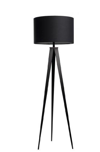 Zuiver 5000801 Floor Lamp Tripod, Metall, schwarz