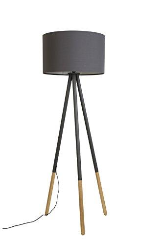 Zuiver 5100037 Floor Lamp Highland, Metall, dunkelgrau