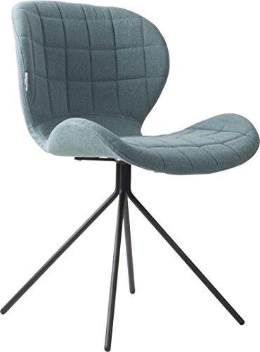 Zuiver Stuhl Esszimmerstuhl OMG blau