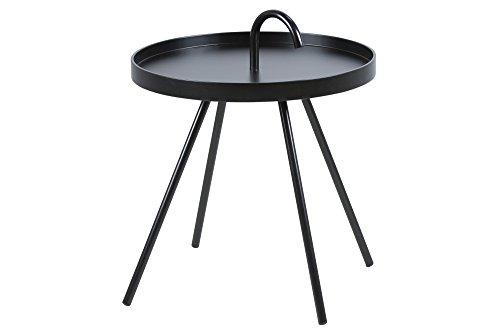 AC Design Furniture 57624 Beistelltisch Joan / Durchmesser 51 cm H:62,5 cm, schwarz