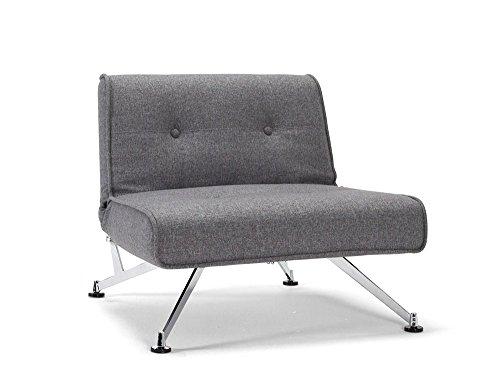Innovation - Clubber Sessel - grau - Charcoal Twist - Per Weiss - Design - Sessel