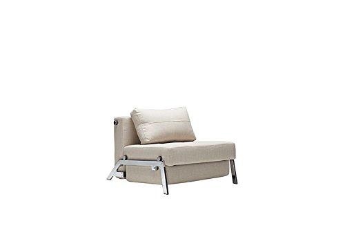 Innovation - Cubed 90 Schlafsessel - schwarz - Kunstleder - Per Weiss - Design - Sessel