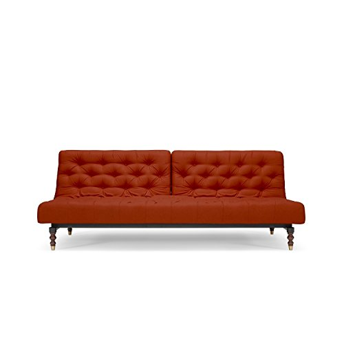 Innovation Schlafsofa Old School, Schlafcouch Bettsofa orange