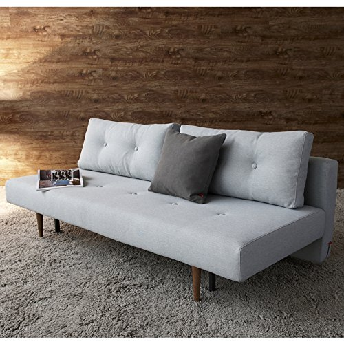 Innovation Schlafsofa Recast Textil hellblau