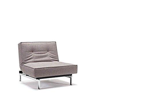 Innovation - Splitback Sessel - grau - Mixed Dance - Chrom - Per Weiss - Design - Sessel