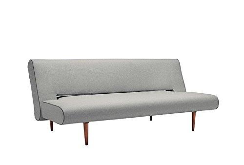 Innovation - Unfurl Schlafsofa - hellgrau - Flashtex - Andreas Lund, Flemming Hoejfeldt, Per Weiss - Design - Sofa