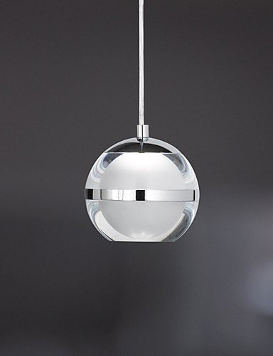 ShangYi 5W Zeitgenössisch LED Chrom Metall Pendelleuchten Wohnzimmer / Schlafzimmer / Esszimmer / Studierzimmer/Büro , cool white-220-240v