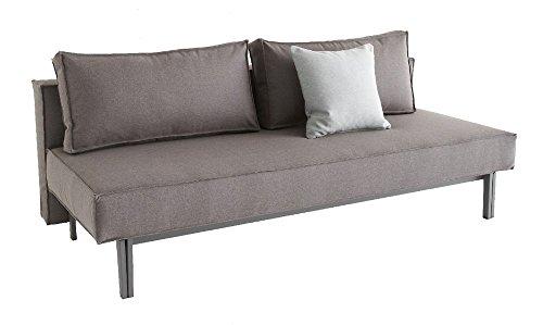 Innovation - Sly Schlafsofa - granit - grau - Design - Sofa
