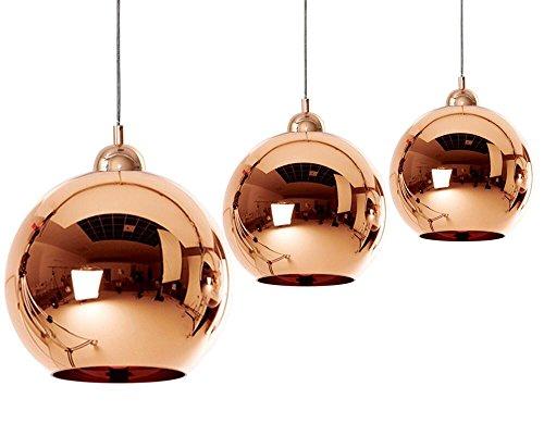 Dst Copper Mirror Ball 20/25/30/35/40/45cm Deckenlampen Kronleuchter (35cm)