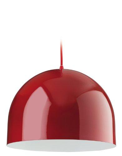 Firstlight Hängeleuchte Edison Screw, E27, 60 W, Haus, rot, innen weiß