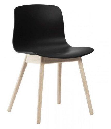HAY - About a Chair AAC 12 - schwarz - Eiche geseift - Hee Welling and Hay - Design - Esszimmerstuhl - Speisezimmerstuhl