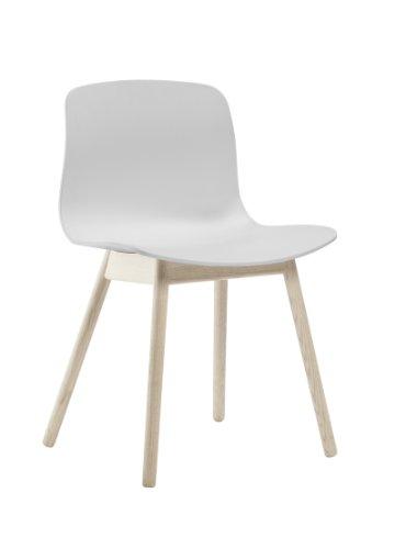 HAY - About a Chair AAC 12 - weiß - Eiche geseift - Hee Welling and Hay - Design - Esszimmerstuhl - Speisezimmerstuhl