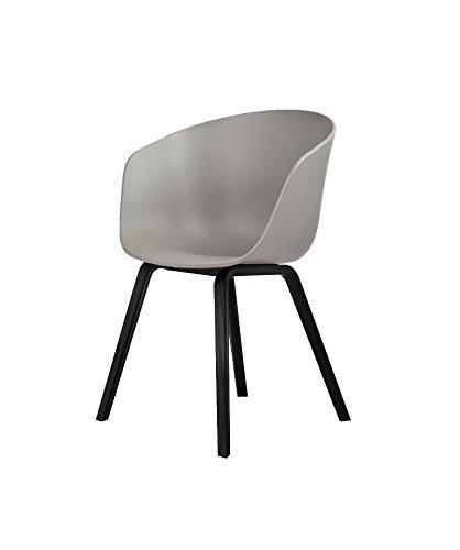 HAY - About a Chair AAC 22 - grau - schwarz gebeizt - Hee Welling - Design - Esszimmerstuhl - Speisezimmerstuhl