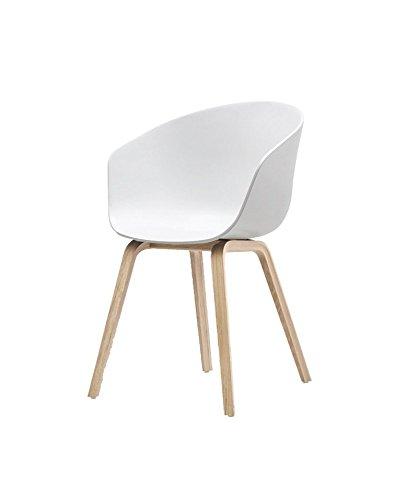 HAY - About a Chair AAC 22 - weiß - klar lackiert - Hee Welling - Design - Esszimmerstuhl - Speisezimmerstuhl