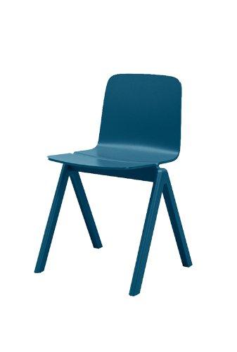 HAY - Copenhague Chair - blau - Ronan & Erwan Bouroullec - Design - Esszimmerstuhl - Speisezimmerstuhl