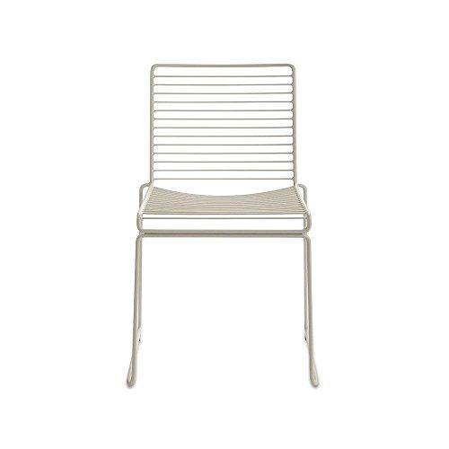HAY Hee Dining Stuhl, beige lackiert 47,5x79x50cm Sitzhöhe: 47cm
