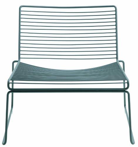 HAY Hee Lounge Chair - grey Hee Welling, Stahl pulverbeschichtet