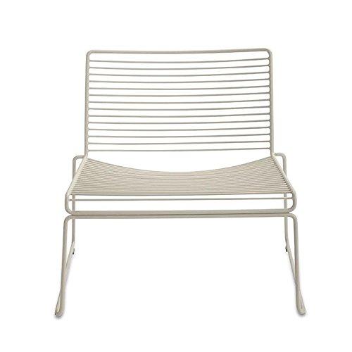 HAY Hee Lounge Stuhl, beige lackiert 72x67x67cm Sitzhöhe: 37cm