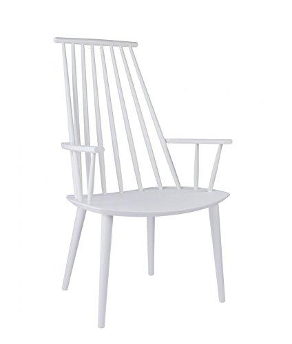 HAY - J110 Stuhl - weiß - Poul M. Volther - Design - Esszimmerstuhl - Speisezimmerstuhl