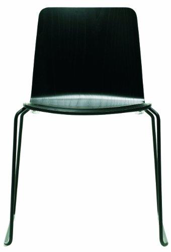 JW01 Stuhl Schwarz HAY Design