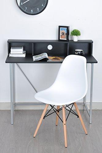 Coavas Esszimmerstuhl Eames Stuhl Stühle Set aus 4 Esszimmerstuhl mit Weiß