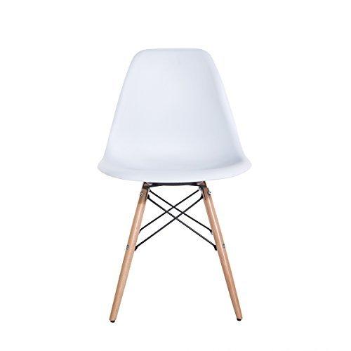 Delman Esszimmerstuhl Esszimmerstühle Wohnzimmerstühle Designerstühle 02-0010WT (4 Stück)