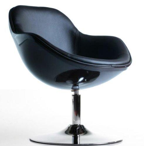 Cocktal Lounge Sessel Speedchair schwarz