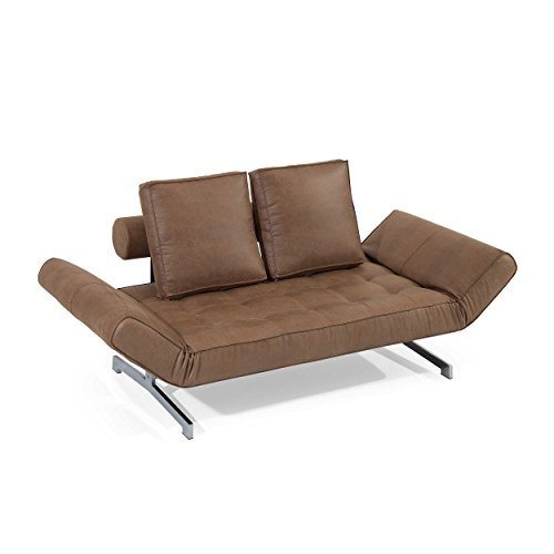 INNOVATION Istyle Schlafsofa Ghia Brown