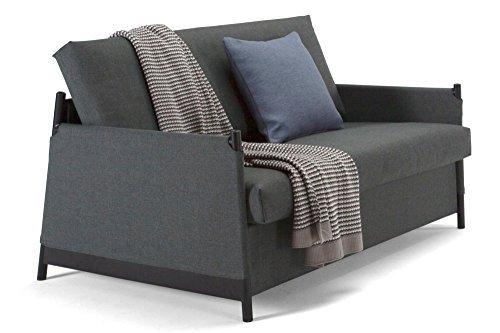 INNOVATION Living Sofa Design Neat grau Convertible Bett 135* 200cm