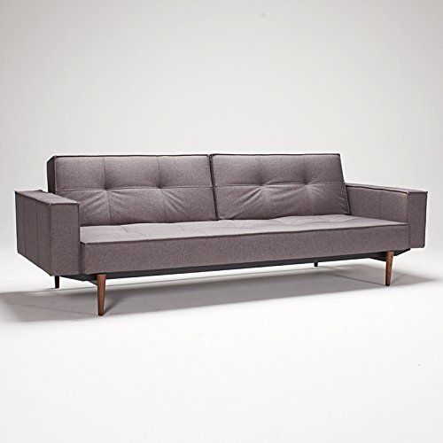 Innovation Schlafsofa Splitback, black
