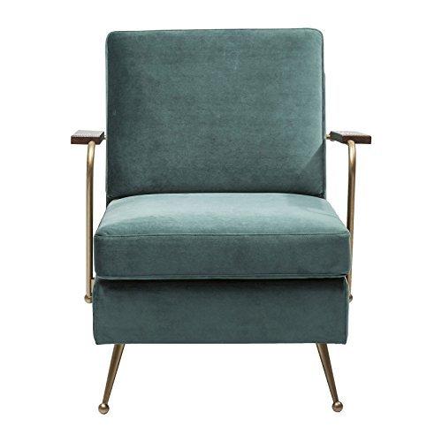 Kare 80751 Sessel, Polyester, grün, 54.6 x 80.5 x 72 cm