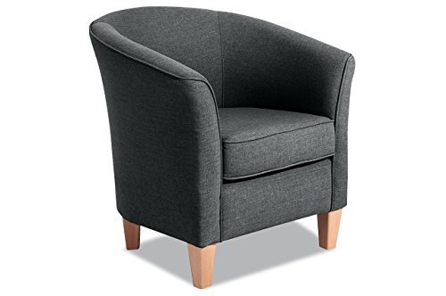 Sofa Couch Max Winzer Sessel Luisa - Anthrazit