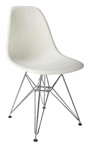 EUROSILLA ST003–Stuhl für Esszimmer, 81x 47x 56cm, weiß