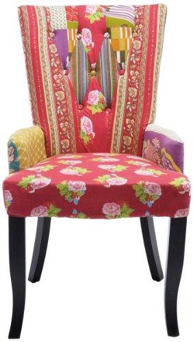Kare 76328 Stuhl mit Armlehne Villa Patchwork Sur