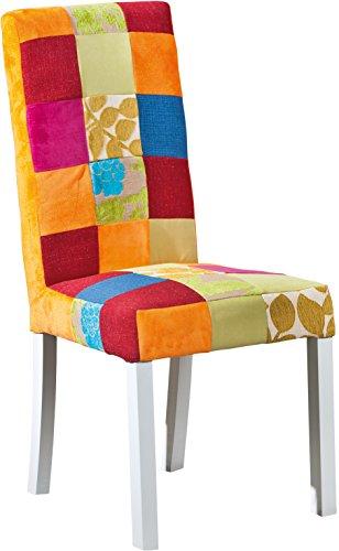 Links 20500055 Stuhl Patchwork Sao Bento, VE 2 Stück, 46 x 58 x 99 cm, bunt