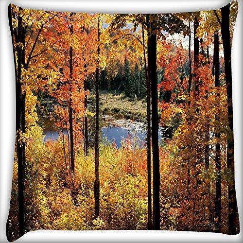 Wald Bäume Home Decor Werfen Sofa Auto Kissenbezug Kissen Fall 50,8x 50,8cm