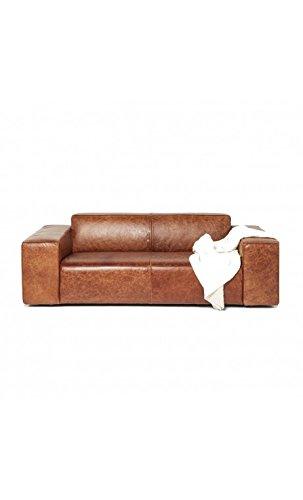 Kare Design–Sofa Vintage 2Sitzer Leder braun Big Hug