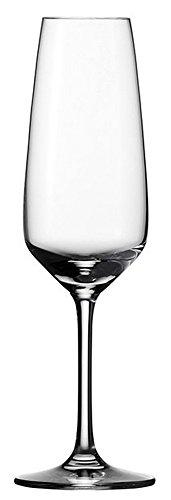 vivo Villeroy & Boch Group 19-5300-8130 Voice Basic Sekt 4 teilig, Gläsersets, transparent, 22.5 x 15.5 x 15 cm, 4 Einheiten
