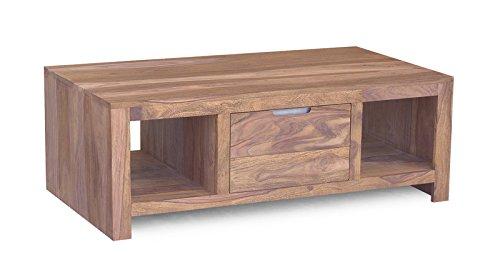 Couchtisch Holz Wohnzimmertisch Holz sheesham Möbel Indian Summer Wohnzimmer Möbel 118x65cm sheesham gebeizt couchtisch couchtisch massiv holz