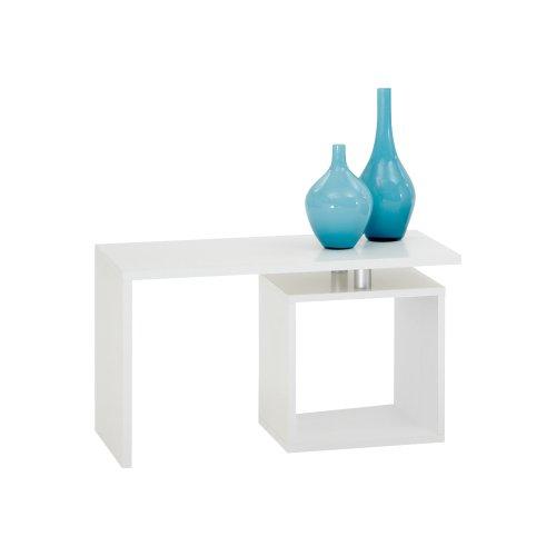 FMD Möbel 627-001 Couchtisch Klara 77 x 44 x 40 cm, weiß