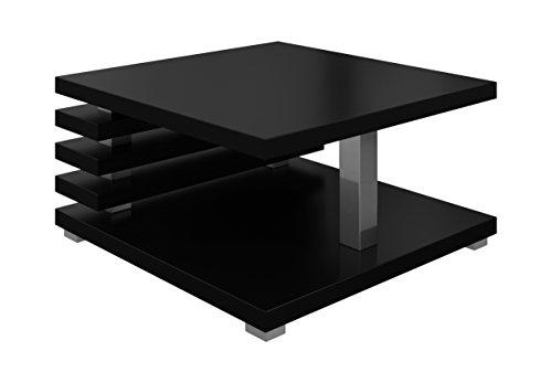 Oslo Couchtisch, 60 x 60 cm (schwarz matt)