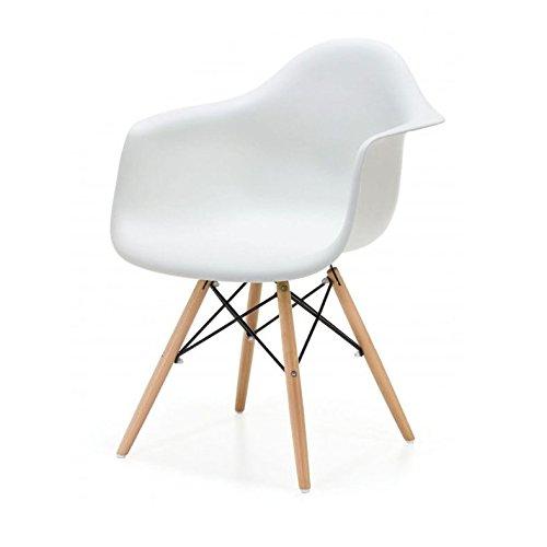 arredinitaly–Set 1Sessel weiß Polypropylen Replica-Design