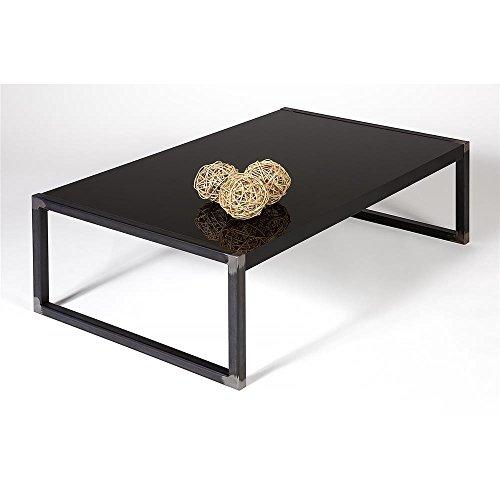 mobilifiver poliert Luxus Wohnzimmer Tisch, Holz, schwarz, 90x 55x 30cm